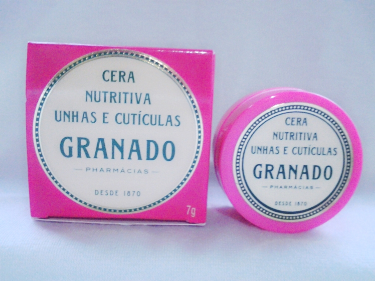 Cera nutritiva unhas e cuticulas Granado