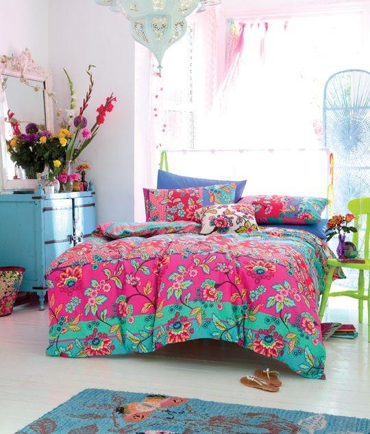 decoração colorida sem medo