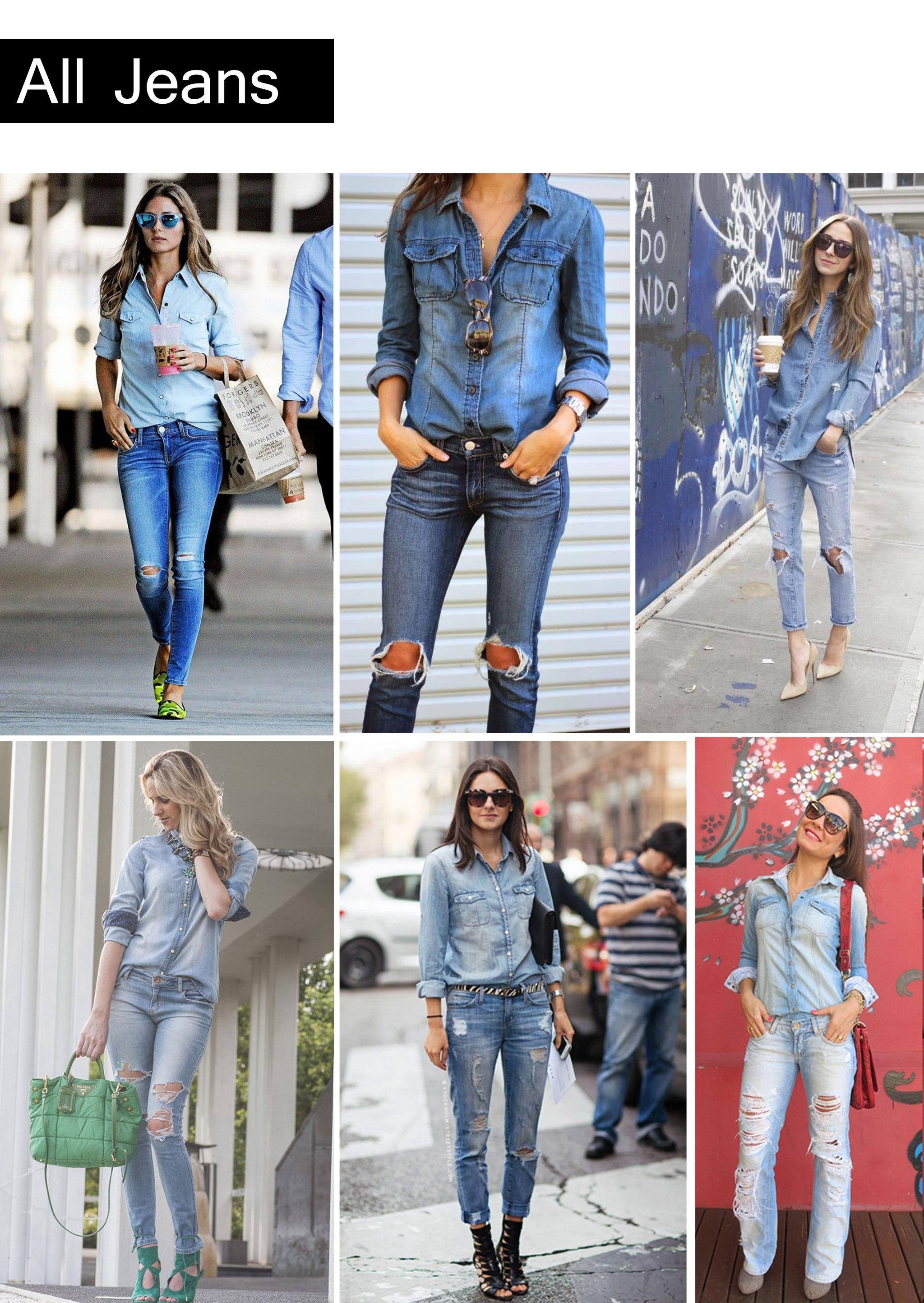 all-jeans com calça destroyed / All_Jeans com destroyed jeans