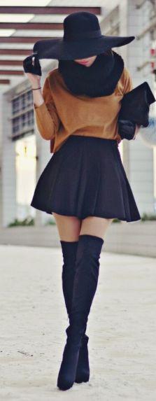Inspiração Winter is coming botas Over The Knee3 belezacalculada