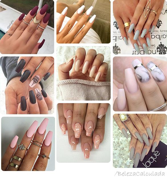 Squariletto unhas nail longas compridas beleza calculada